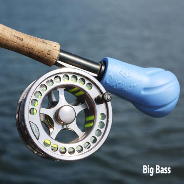 flyrod float - cushit by Luna Sea Sports - blue, Big Bass model cush-it