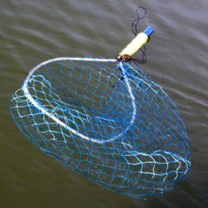 float for a fishing landing net