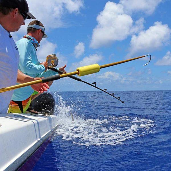 float for fishing gaff - fishing gaff float by Luna Sea