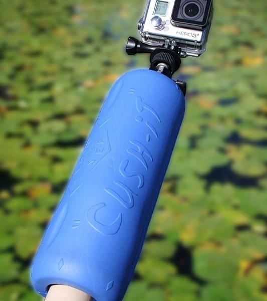 landing net float - gaf float - go pro rod floating
