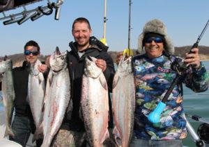 cushit by luna sea - salmon fishing success