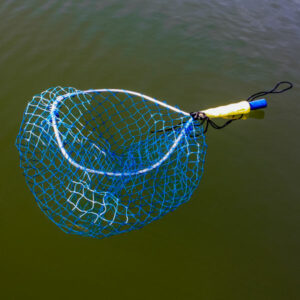 float for a fishing landing net