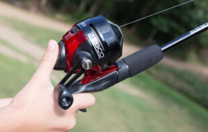 spincast fishing rod and reel