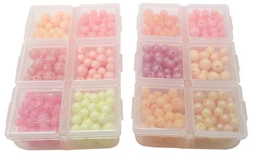 trout salmon beads box assortment