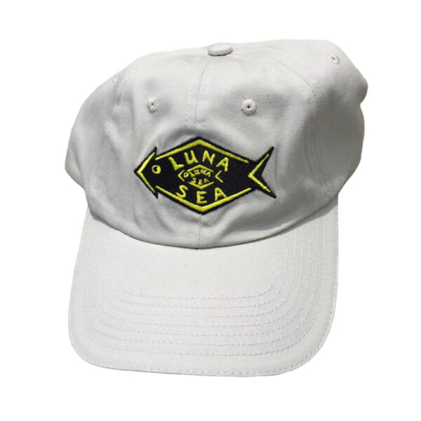 Luna Sea Hat - Khaki with Black and Yellow Logo